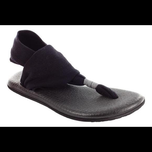 63fd3d5fdf121f Sanuk yoga mat sandals women s size 9 black. M 5c473127d6dc52d6ec3ae841